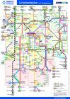 Liniennetzplan mit Tarifgebieten DADINA-Gebiet