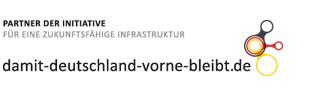Logo Partner der Initiative für eine zukunftsfähige Infrastruktur