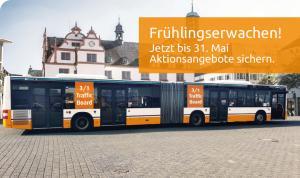 Werben auf Bussen