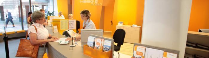 Service im Kundenzentrum