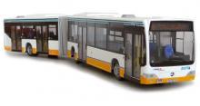 Modell Mercedes-Benz Citaro Gelenkbus, Maßstab 1:87