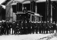 1897 Eröffnung Straßenbahnverkehr ST0