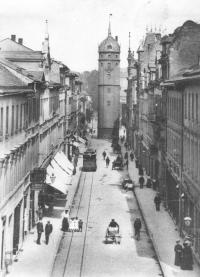1900 Weißer Turm
