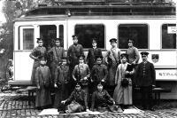 1915 Schaffnerinnen