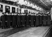 1930 Fahrpersonal Böllenfalltor