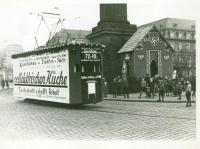 1935 Straßenbahnwerbung