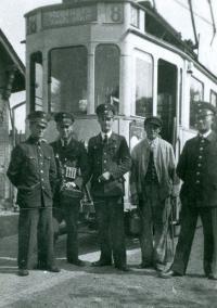 1937 Linie 8 Mannschaft