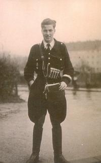 1943 Schüler als Schaffner