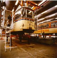 1979 Straßenbahnwerkstatt Böllenfalltor