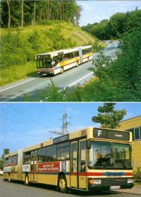 Die HEAG erwarb 1983 als eines der ersten deutschen Verkehrsunternehmen Busse aus dem Hause Neoplan.