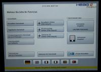 Automat Touchscreen Schnellwahl
