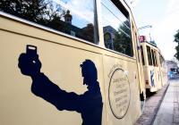Schattenrissfiguren kennzeichnen die Außengestaltung des Datterich-Express