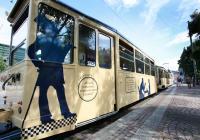 Der Datterich-Express besteht aus drei verschiedenen Wagen mit jeweils eigenen Eingängen