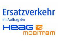 Schild Schienenersatzverkehr