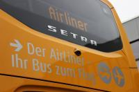 Rückseite AirLiner mit Lauftext. © HEAG mobilo