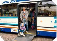 1989 beginnt in Darmstadt die Niederflur-Ära im Busbereich.