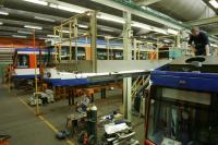 Straßenbahnwerkstatt Dacharbeitsplatz HEAG mobilo