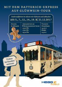 Plakat Glühweintouren 2017