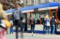 2017 nutzten die Menschen erstmals mehr als 50 Millionen Mal Busse und Straßenbahnen der HEAG mobilo.