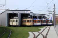 Das Depot für historische Straßenbahnen in Kranichstein ist am Sonntag (11.) von 11 bis 18 Uhr geöffnet.