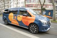Der HeinerLiner ist seit 1. April unterwegs auf Darmstadts Straßen.