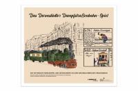 Das Darmstädter Dampfstraßenbahn-Spiel ist eine originalgetreue Wiederauflage eines Spiels, das bereits vor über hundert Jahren existierte.