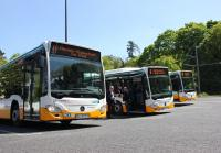 Die ersten neuen Busse der Marke Evo-Bus sind bereits seit Freitag (5. Mai) bei HEAG mobiBus im Einsatz.