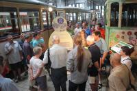 Seit 120 Jahren fahren in Darmstadt elektrische Straßenbahnen. Am Sonntag (13. August) können Besucher im Depot Kranichstein Darmstadts Nahverkehrsgeschichte nachspüren.