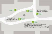 Belegungsplan Luisenplatz Herbstferien 2021