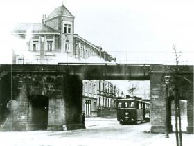 Dampfstraßenbahn 1891