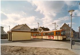 Im September 1976 wird die Wendeschleife in Griesheim in Betrieb genommen.