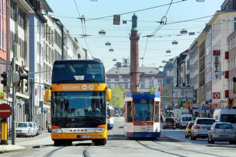 Busse und Straßenbahnen sorgen in Darmstadt und der Region für eine attraktive Mobilität
