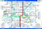 Netzplan Straßenbahn barrierefrei
